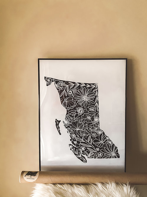 """""""BC FLORAL"""" poster 18""""x24"""""""