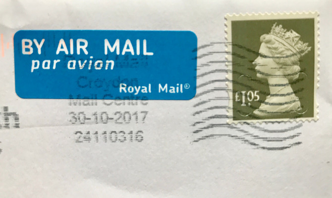 By Air Mail