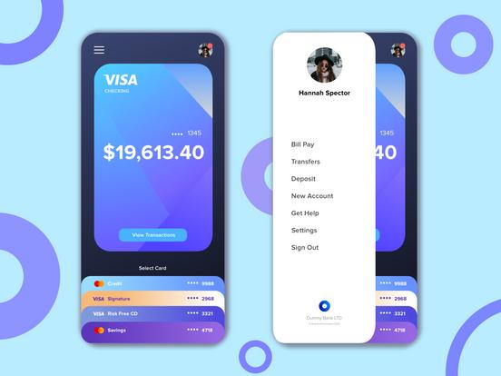 Personal Wallet App