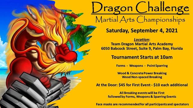 Dragon Challenge Martial Arts Championsh