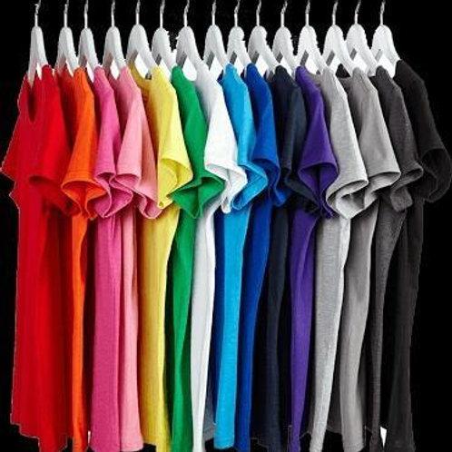Camiseta infantil algodão 30.1