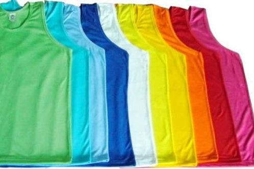 Regata masculina colorida Lisa Para Sublimação 100% Poliéster