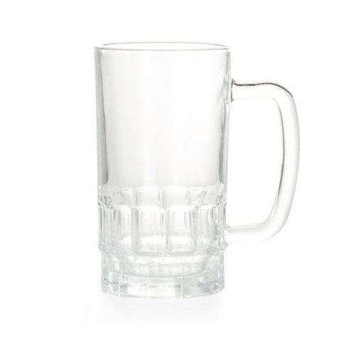 Caneca chopp vidro cristal 550ML para sublimação