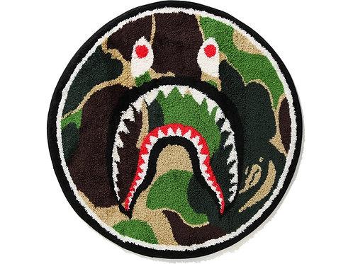 BAPE ABC Shark Rug Green