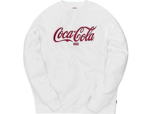 Kith x Coca-Cola Crewneck White