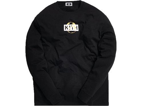 Kith One World L/S Tee Black