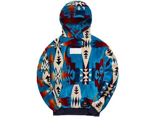 Kith x Pendleton Terry Williams Hoodie Turquoise/Multi