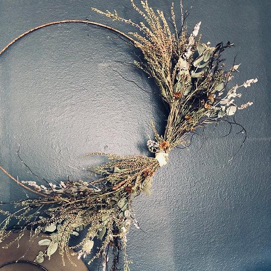 Antique Ring Wreath