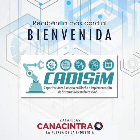 CADISIM en CANACINTRA ZAC.