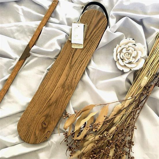EA Signature Design Lily Leather Handle L Oak