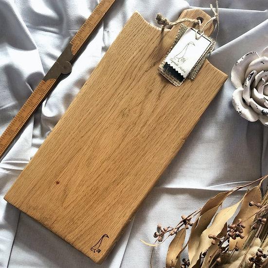 Antique Apple Stem Oak Board