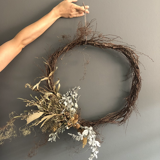 Large Forage Wreath
