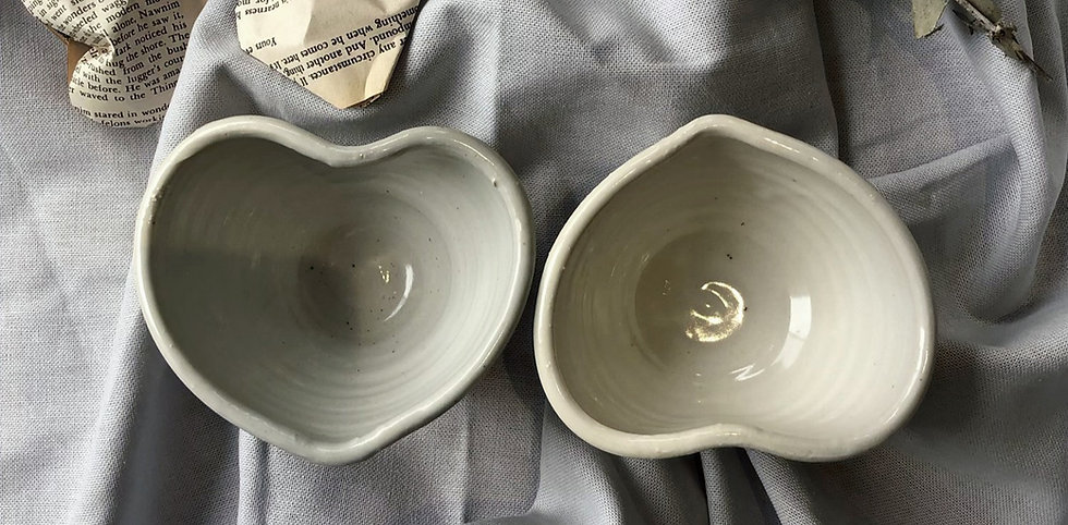 Handmade Ceramic Heart bowl