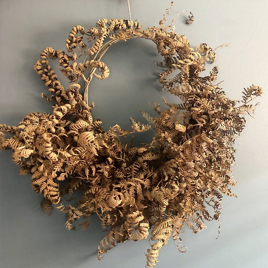 Large Fern Wreath