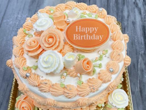 パステルデコレーションケーキ