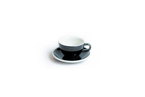 Cappuccino Cup Black 190ml
