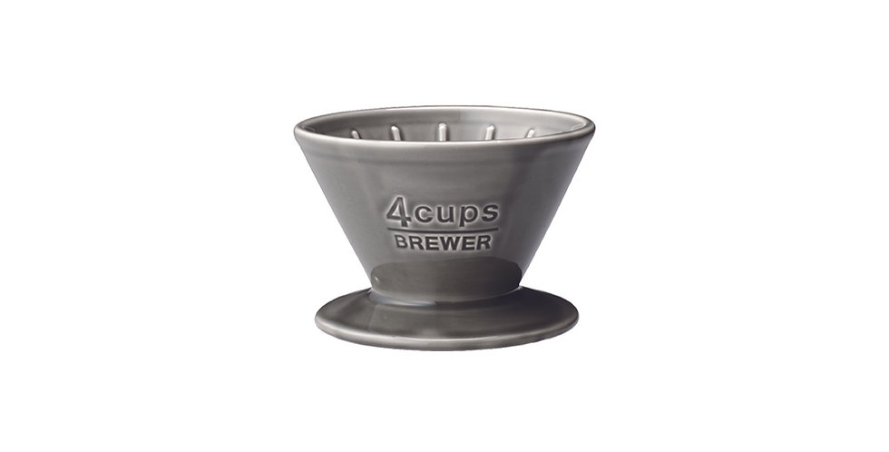 Kinto SCS-04-BR Filter holder for 4 cups