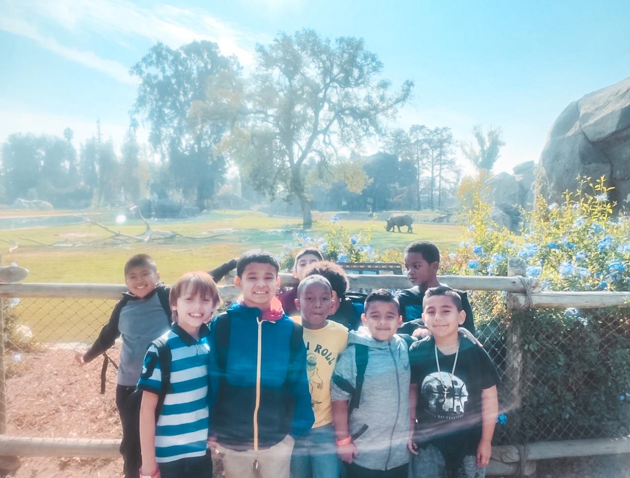 Fresno Zoo field trip