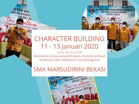Kegiatan Character Building SMA Marsudirini Bekasi, Secara Daring