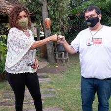 Elisa Lucinda e Mateusinho do Povão