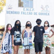 Ação literária na EMEF Benônio Falcão de Gouvêa