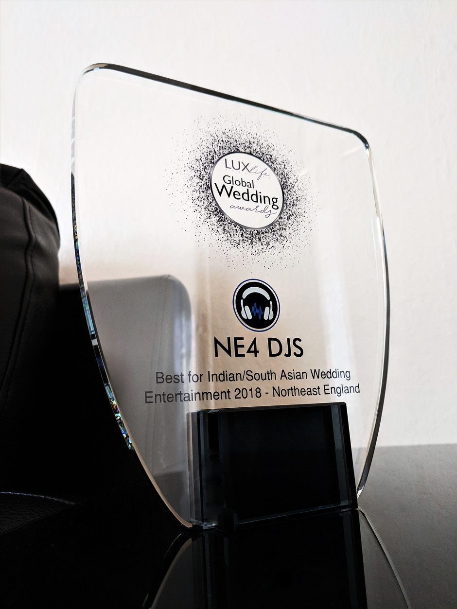 Award Winners | LUX Global Wedding Awards | NE4 DJS | Best Indian/South Asian Wedding Entertainment