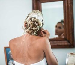 Blonde Bride Upstyle
