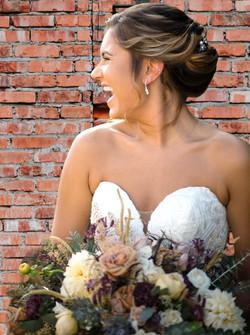 New England Wedding Hair