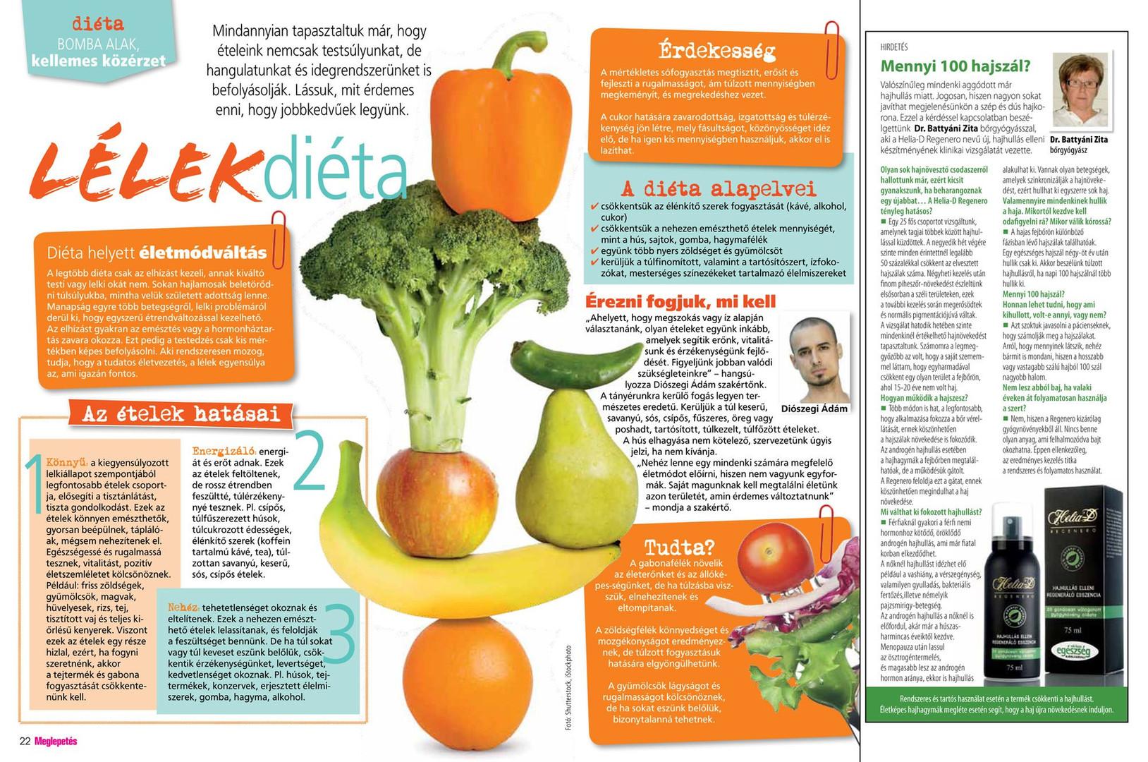 Jóga cikk: Lélek diéta