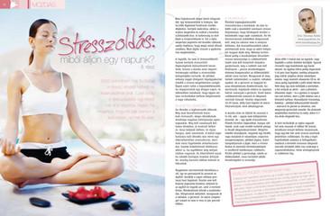 Jóga cikk: Stresszoldás jógával