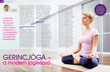 Jóga cikk: Gerincjóga