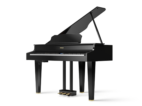 Roland GP607* Polished Ebony Digital Grand Piano