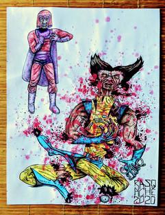 Magneto Vs. Wolverine