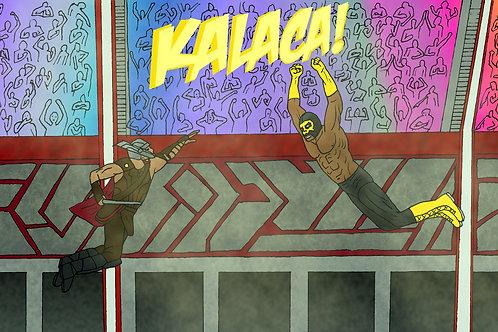 Kalaca! Contra Thor POSTER