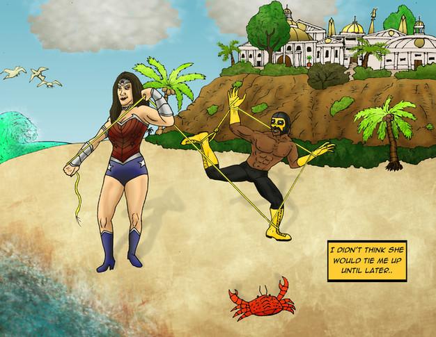 Kalaca Vs. Wonder Woman