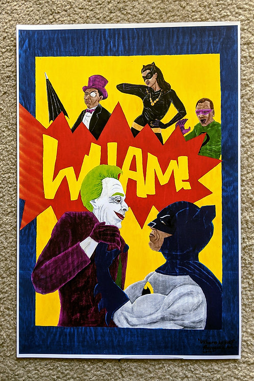 """""""Where Is He?!"""" 1:2 Reprint POSTER"""