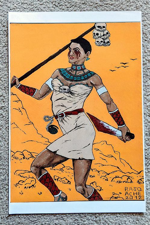 Pocahontas Painting 1:1 Reprint POSTER