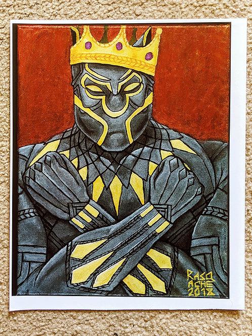 Black Panther Painting 1:1 Reprint POSTER
