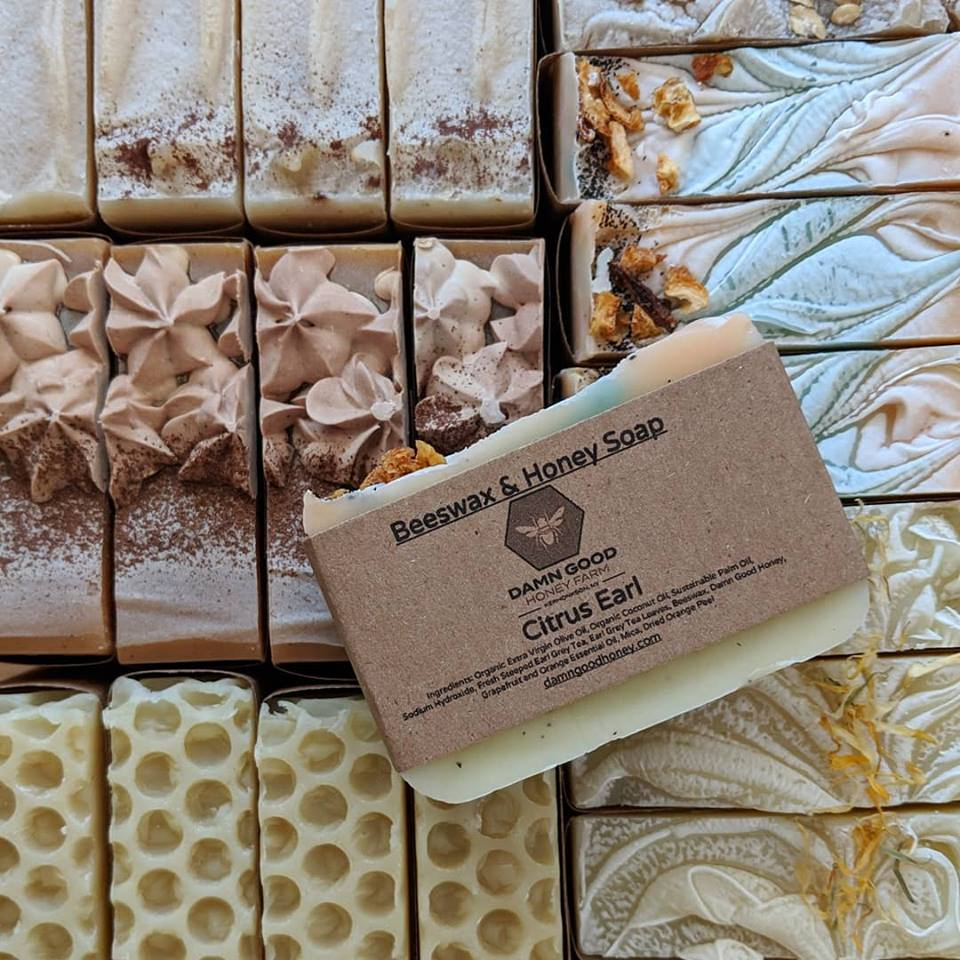 Damn Good Honey Farm Soaps