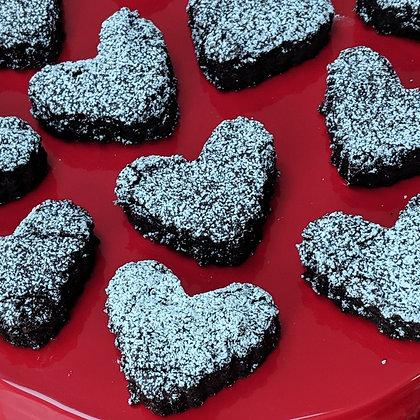 BROWNIE HEARTS (GF)