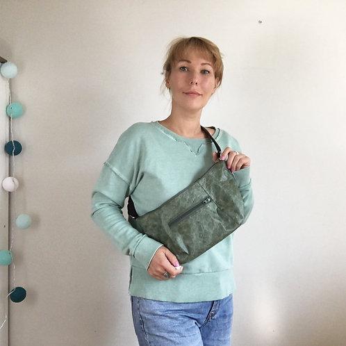 Выкройка поясной сумки с карманом