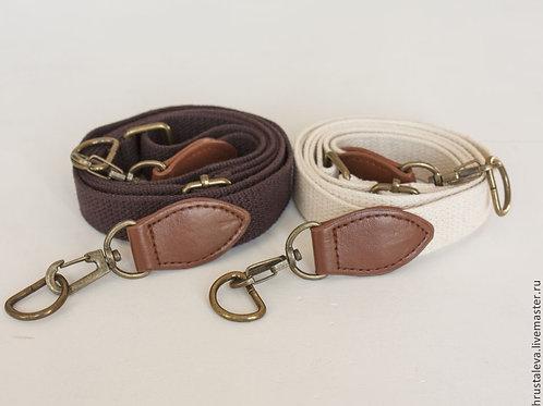 Ремень для сумки 80-145 см, коричневый