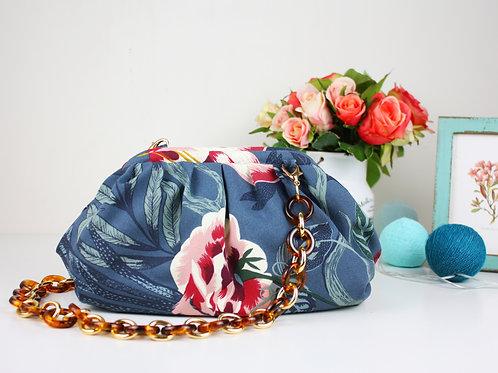 Видео мастер класс + выкройка сумки с каркасом 20  см