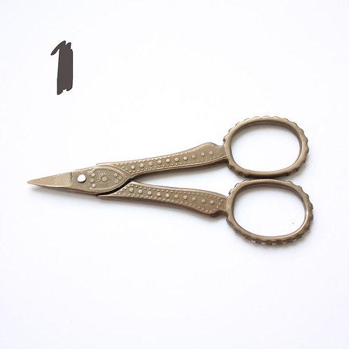 Винтажные ножницы, 2 вида