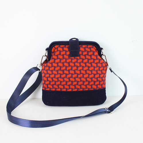 Выкройка сумки с внутренним каркасом 18 см