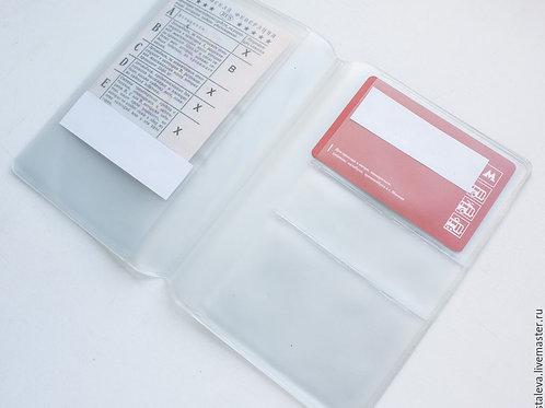 Заготовка для кредитных карт и прав