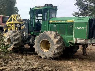Logging equipment damaged in Winn