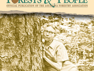 First lady of Louisiana forestry