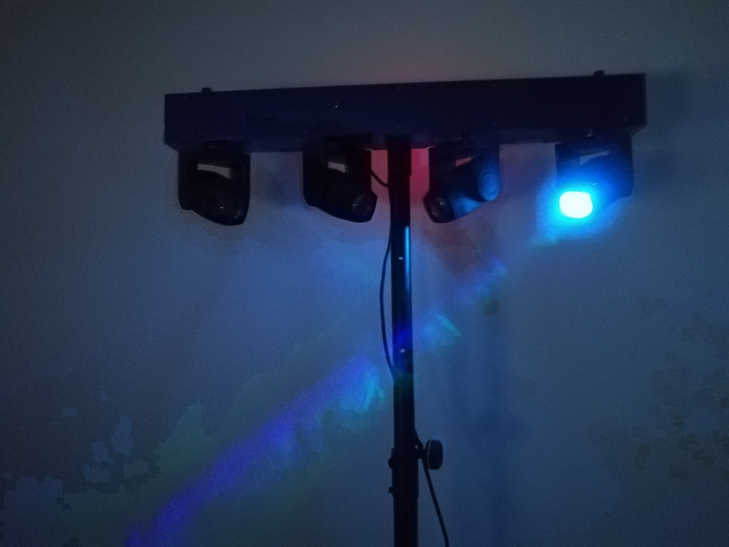 BARRE DE MINI LYRES LED