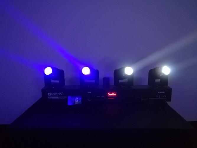 BARRE DE MINI LYRES LED
